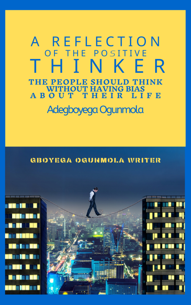 Book Cover: A Reflection of the Positive Thinker